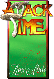 Attack Time Logo for CD cover.