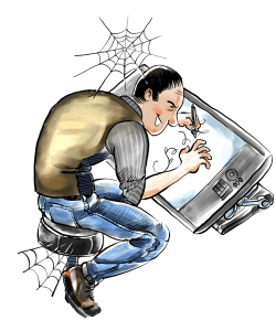 2 Digital Cartoons