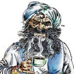 Cartoon Coffee, a potent brew.