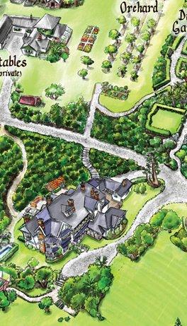 Cartoonists illustrate VERY tasty maps!