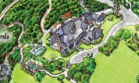 Maps- Otahuna Lodge Luxury Retreat, Tai Tapu