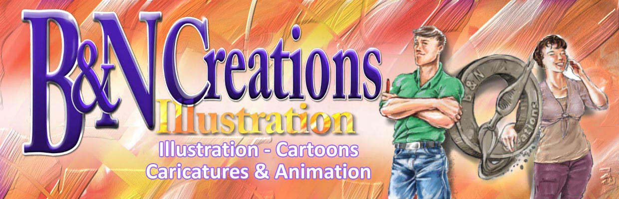 B&N: Cartoons, Caricatures & Animations