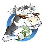 Cartoon Logo for Cash Cow finances