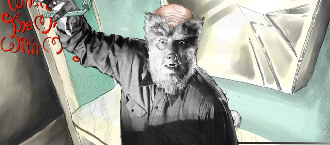 chas williams shaved wolfman